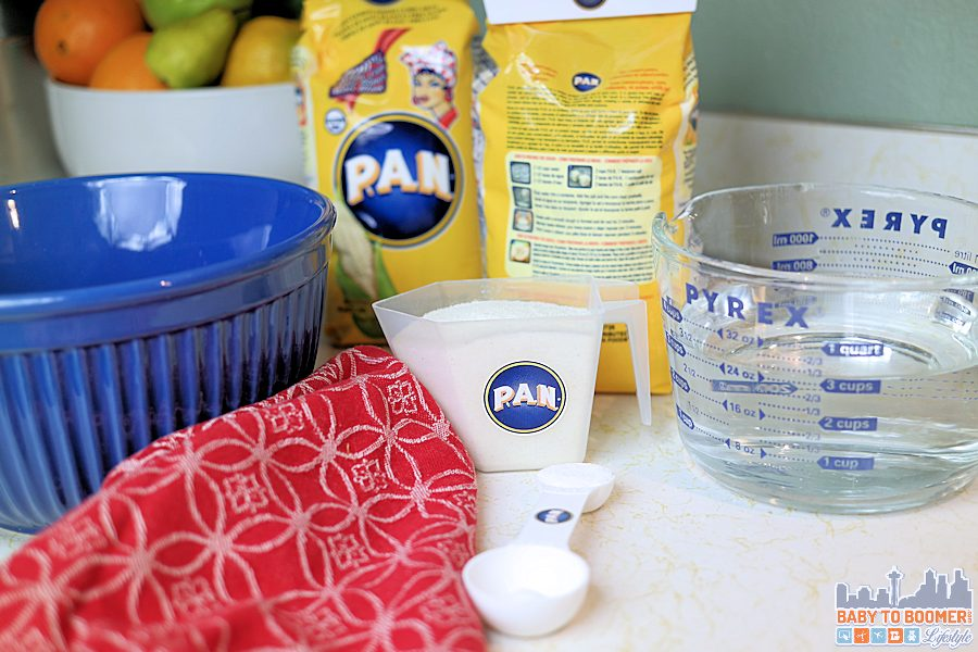 PAN Arepa Telita Recipe - grill or fry - #PANFan #ic ad