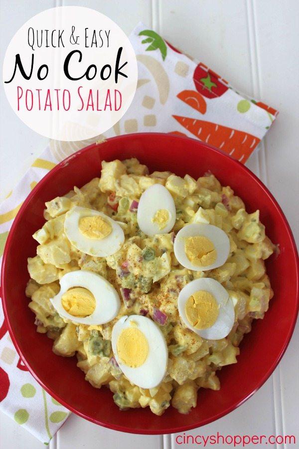 Quick & Easy No Cook Potato Salad | CincyShopper.com