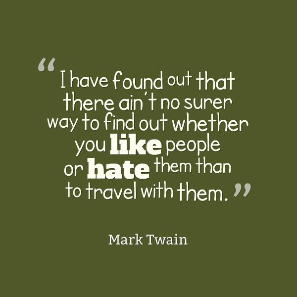 Quotes about Travelling - Mark Twain
