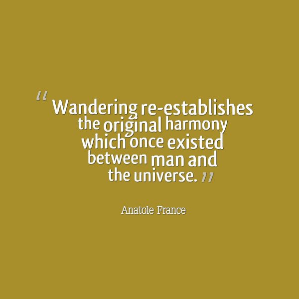 Quotes about Travelling - One with the Universe