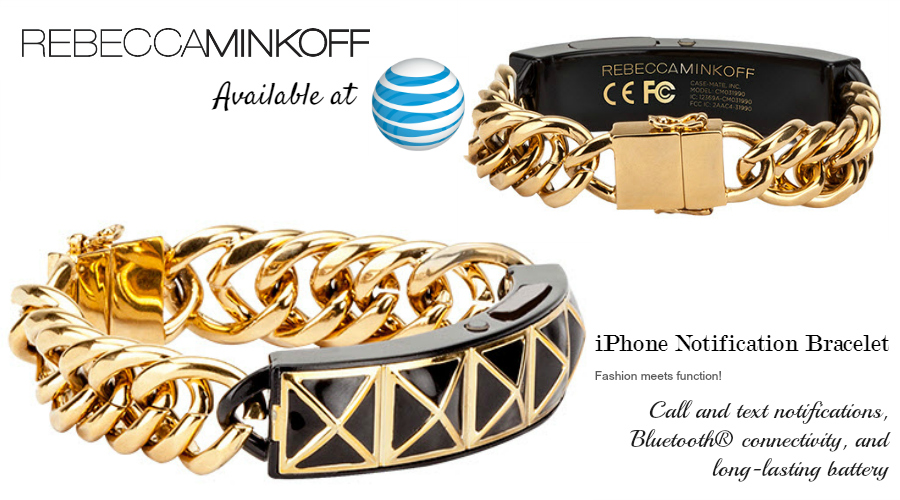 Rebecca Minkoff iPhone Notification Bracelet available at AT&T - 6 New Wearables For Summer: Activity and Fitness Trackers From $49 to $450 #ATTSeattle ad