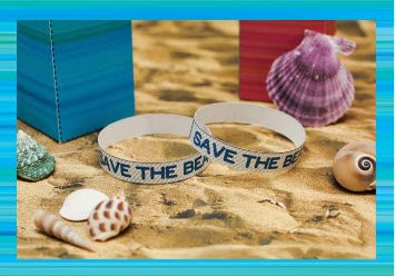 Teen Beach 2 Crafts - Save the Beach Bracelet - Teen Beach 2 Movie Party - Recipes, Crafts, Decorations #TeenBeach2 ad