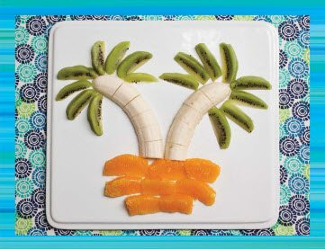Teen Beach 2 Recipes - Banana Trees - Teen Beach 2 Movie Party - Recipes, Crafts, Decorations #TeenBeach2 ad