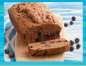 Teen Beach 2 Recipes - Blueberry Bread - Teen Beach 2 Movie Party - Recipes, Crafts, Decorations #TeenBeach2 ad