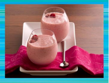 Teen Beach 2 Recipes - Raspberry Smoothie - Teen Beach 2 Movie Party - Recipes, Crafts, Decorations #TeenBeach2 ad