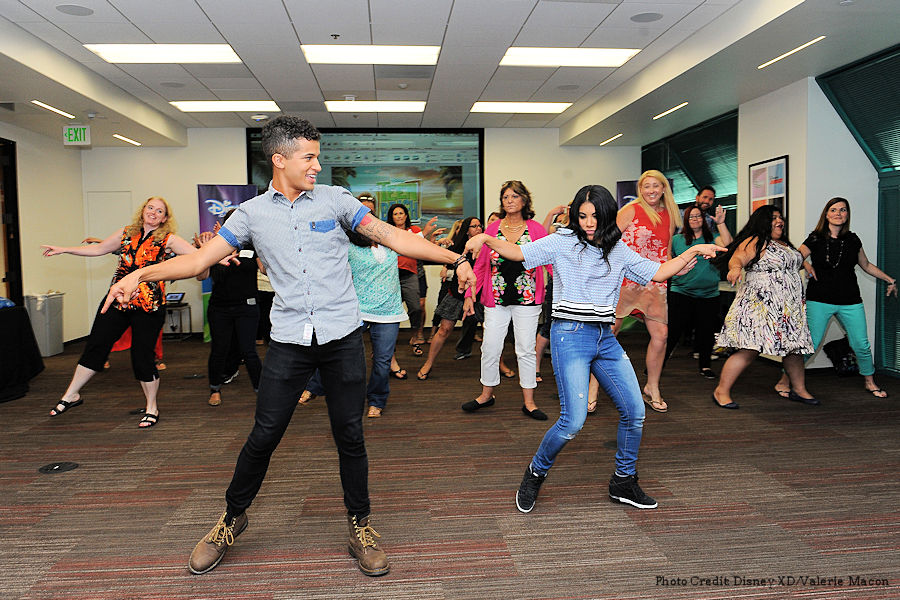 Teen Beach 2 Gotta Be Me Dance Lesson With Chrissie Fit and Jordan Fisher  #TeenBeach2Event ad