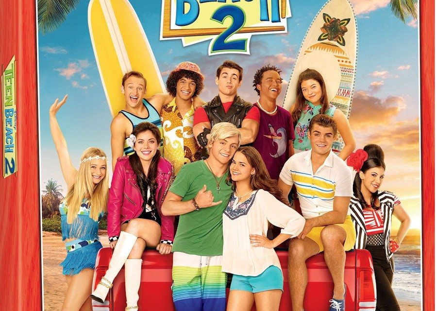 Disney TEEN BEACH 2 DVD with Rehearsal Footage Available Now