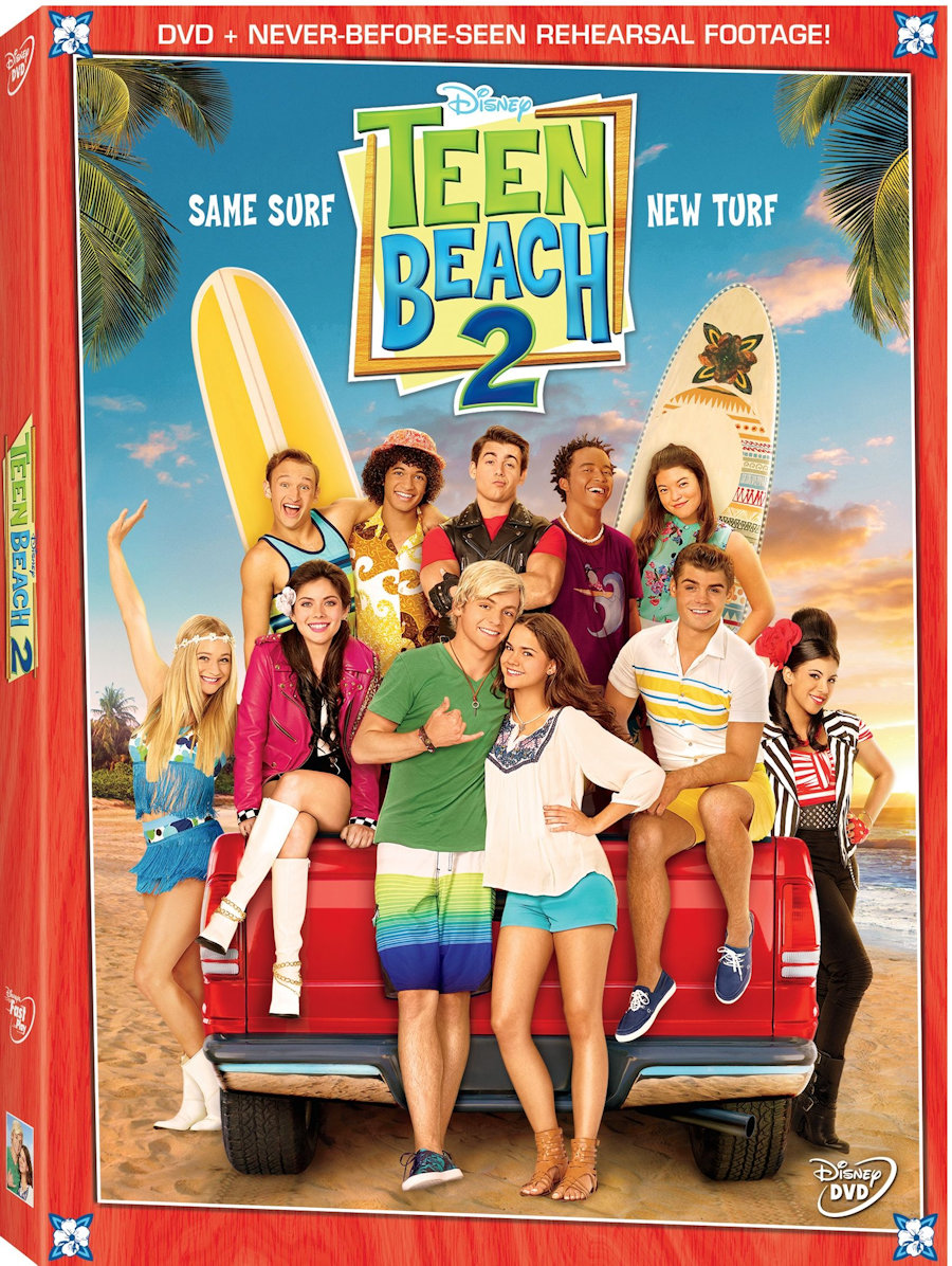 TeenBeach2 on DVD