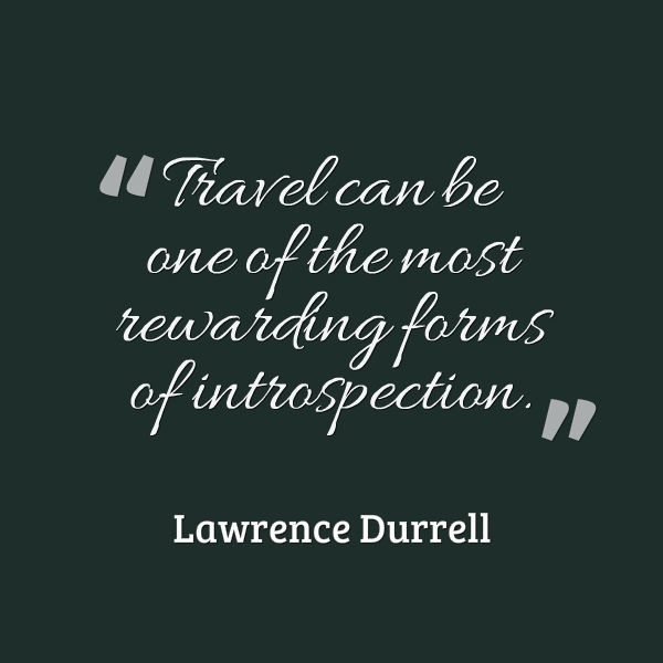 Travel Quote - Best form of interspective