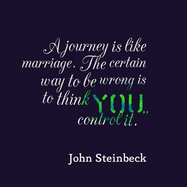 Travel Quotes - John Steinbeck
