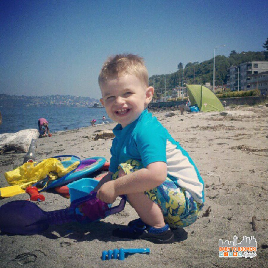 Summer fun at Alki Beach - 8 Spots to Cool Off in Seattle and Summer Water Fun for Kids