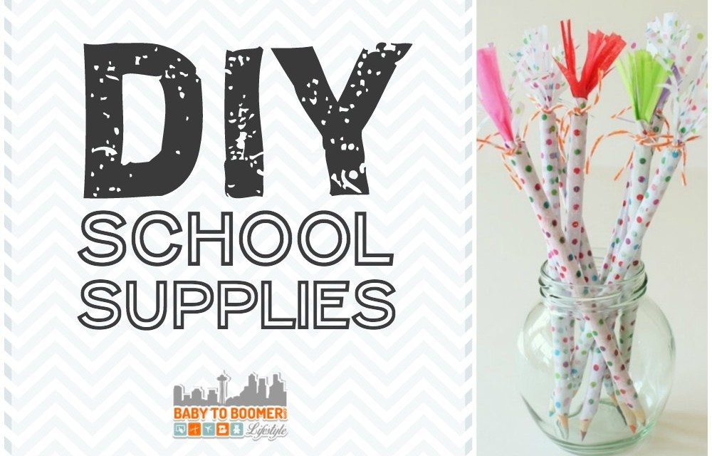 How to Reuse Old School Supplies
