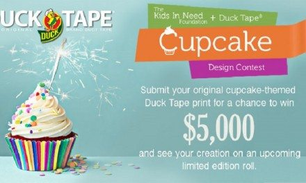 Duck Tape Cupcake Design Contest: Celebrate Kids in Need Foundation & Win $5,000