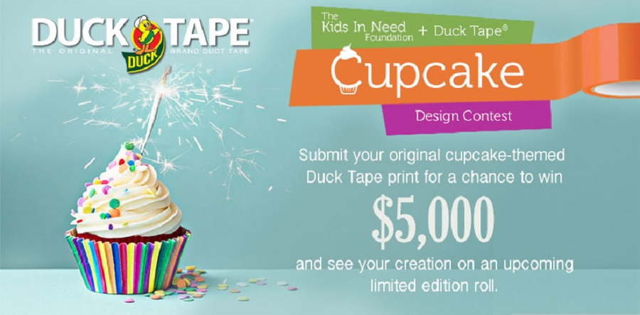 Win $5000 for designing a new duct tape design