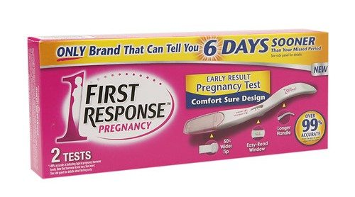 First Response Pregnancy Test - Find Out 6 Days Sooner!  #IC #ad