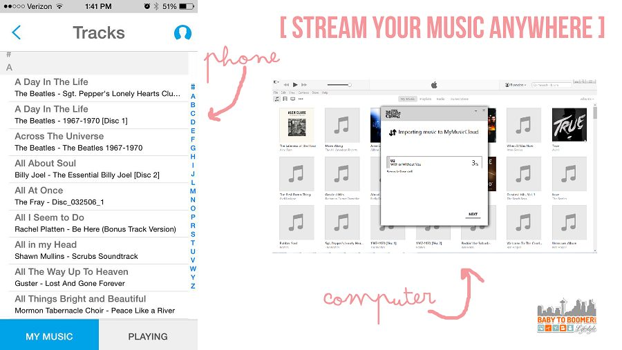 Digital music on every device with MyMusicCloud - MyMusicCloud: Take Your Music Everywhere #giveaway