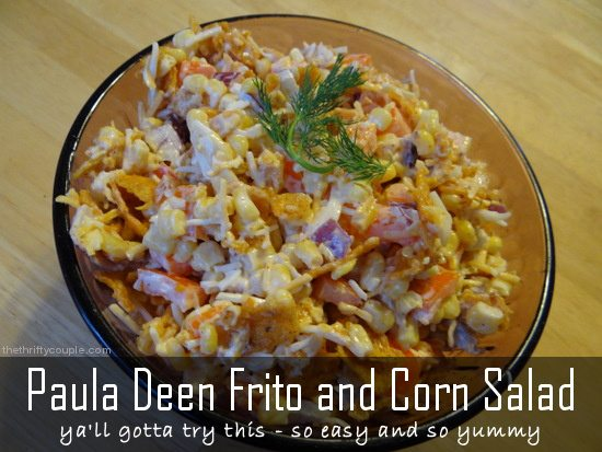 Paula Deen Frito and Corn Salad