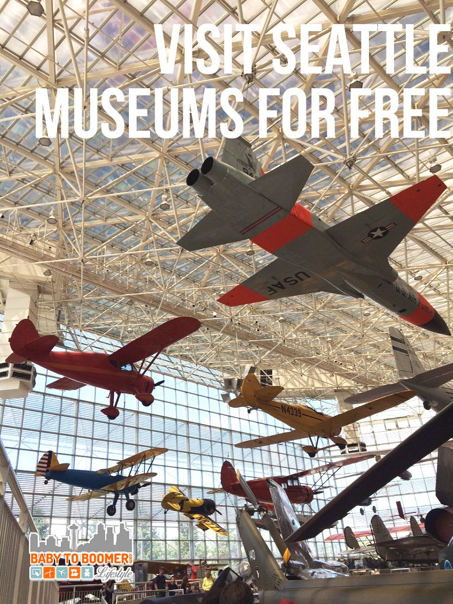 Visit Seattle museums for free
