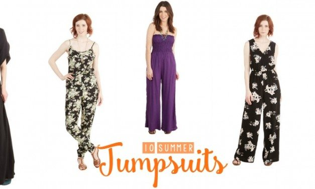 Jumpsuits – Our Picks for Summer's Newest Fashion Trend