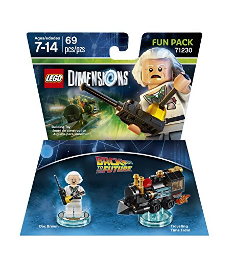 Back to the Future Doc Brown Fun Pack 71230 - LEGO Dimensions