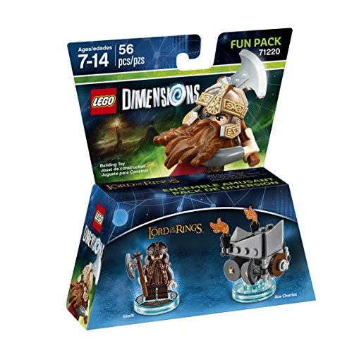 Lord Of The Rings Gimli Fun Pack 71220
