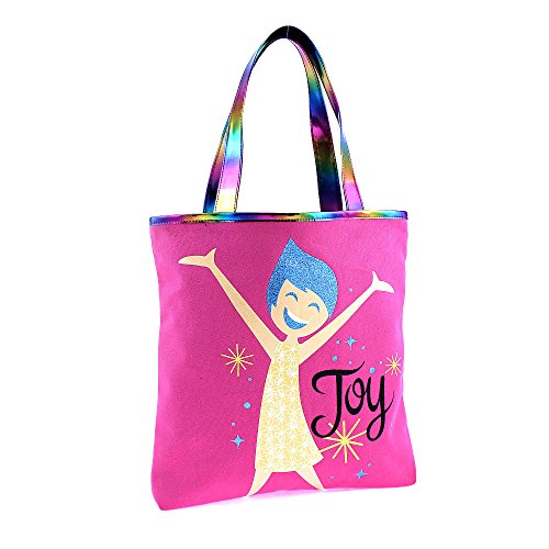 Reversible INSIDE OUT Tote Bag - Joy on one side & Sadness on the other.