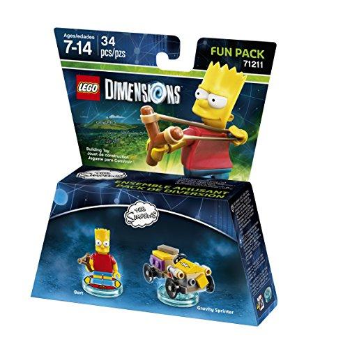 Simpsons Bart Fun Pack 71211
