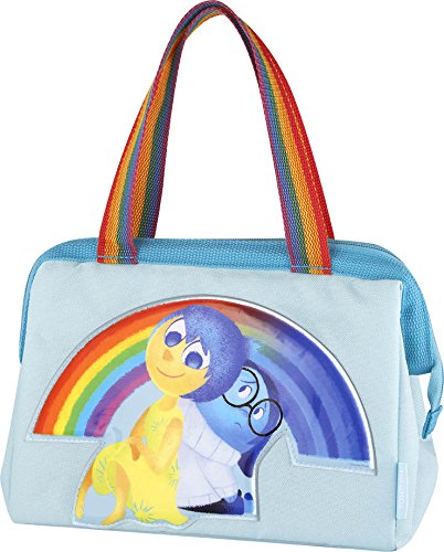 Thermos Duffle Bag/Lunch Kit - featuring INSIDE OUT  Joy & Sadness with rainbow handles.