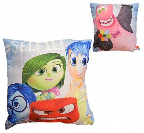 Disney INSIDE OUT 'Emotions' Printed Throw Pillows - Joy, Anger, Sadness, Disgust, and Bing Bong