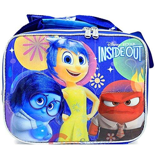 Blue Disney-Pixar INSIDE OUT Lunch Bag - Sadness, Joy & Anger