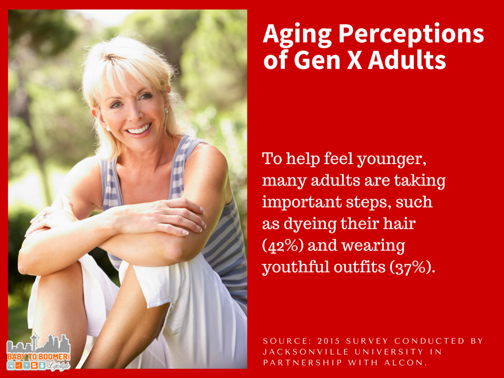 Gen X - What We Think About Aging and Looking Older #LoseYourReaders #sponsored