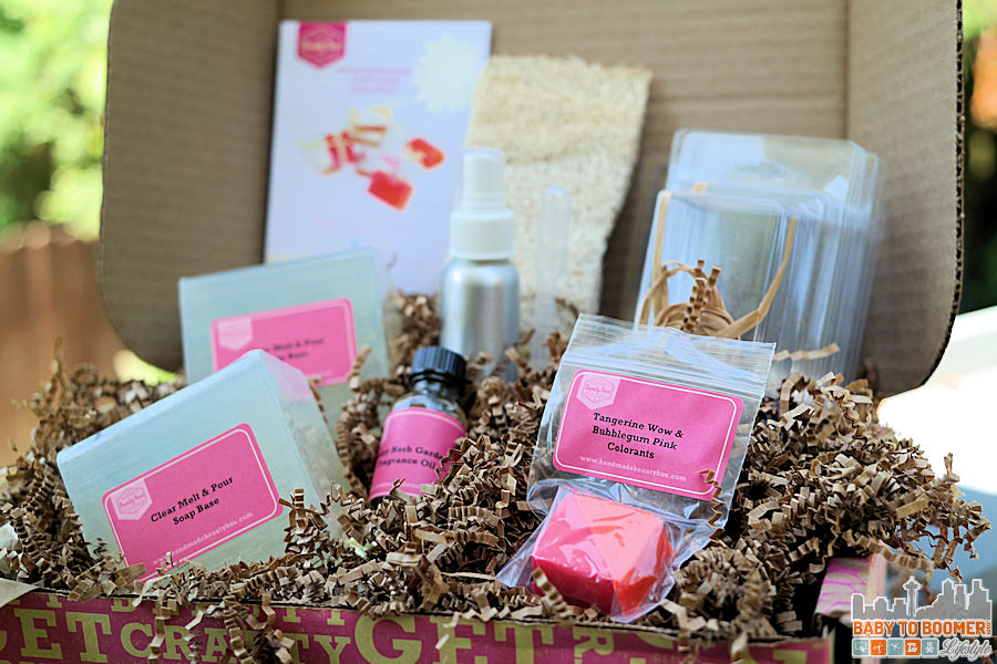 Handmade Beauty Box Monthly Craft Subscription Review
