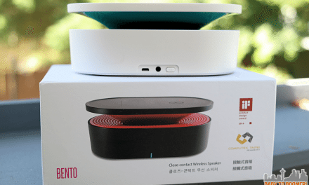 Oaxis Bento Magnetic Induction Close Contact Wireless Speaker – No Pairing, NFC or Wi-Fi
