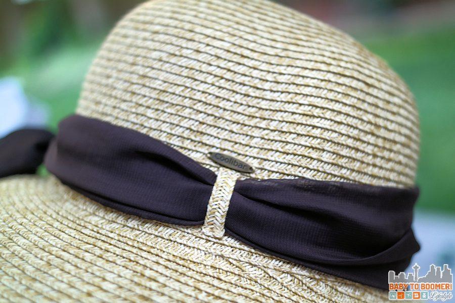 Coolibar Tropicana Sun Hat side view - Coolibar Tropicana Sun Hat ad