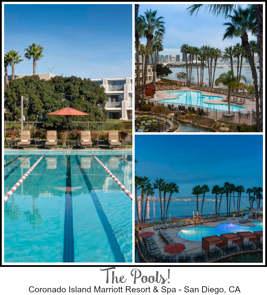 Coronado Island Marriott Resort Spa Pools - The Perfect Summer Vacation Just Got More Affordable  #CelebrateSummer ad