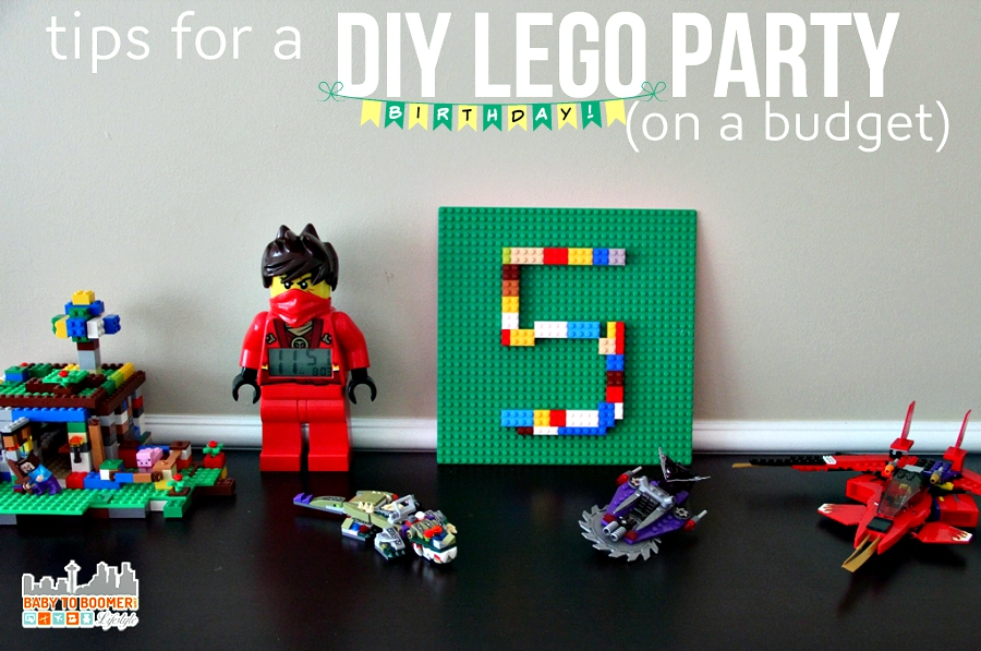 LEGO Party Ideas On A Budget - A Fifth Birthday Bash