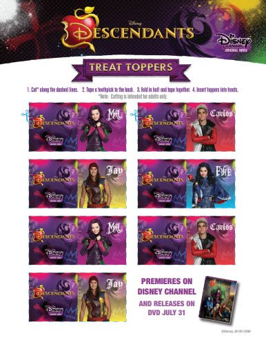 Disney DESCENDANTS Dolls Backpacks Jewelry Costumes Books amp More