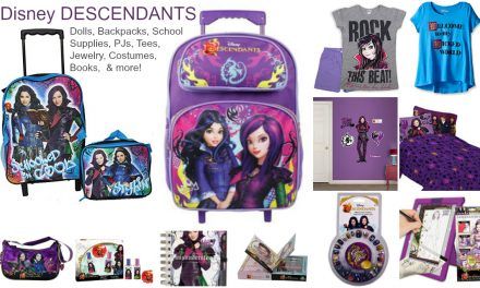 Disney DESCENDANTS Dolls, Backpacks, Jewelry, Costumes, Books,  & More.