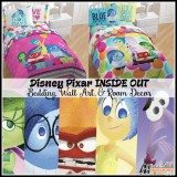 INSIDE OUT Bedding, Wall Art, and Bedroom Decor – NEW! #InsideOutEvent