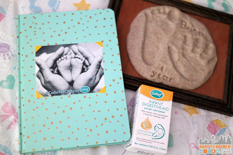 Family Journal Cover - Dealing with a Crying Baby? Seven Sanity Saving Tips #ColiefMOMents #ad