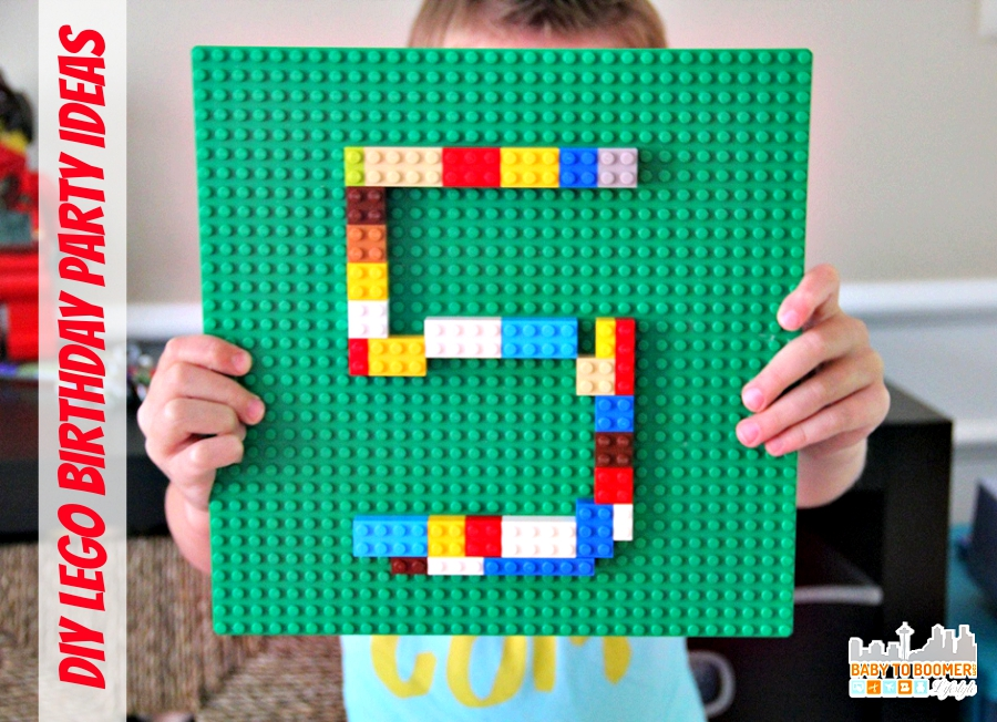 Fun and Easy LEGO Birthday Party Ideas - DIY LEGO Birthday Party Ideas on a budget!