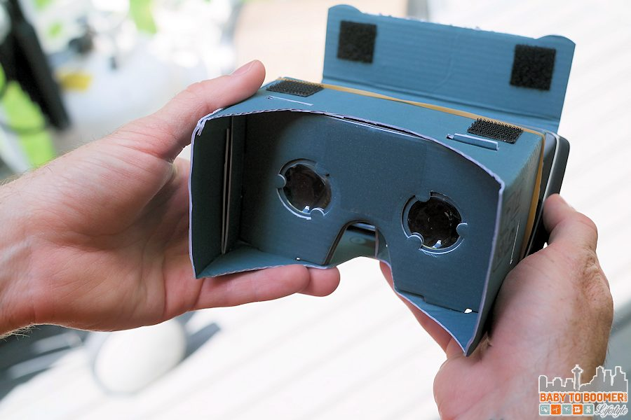 This simple Google Cardboard device turns my Droid Turbo into a Virtual Reality machine - #VZWBuzz ad