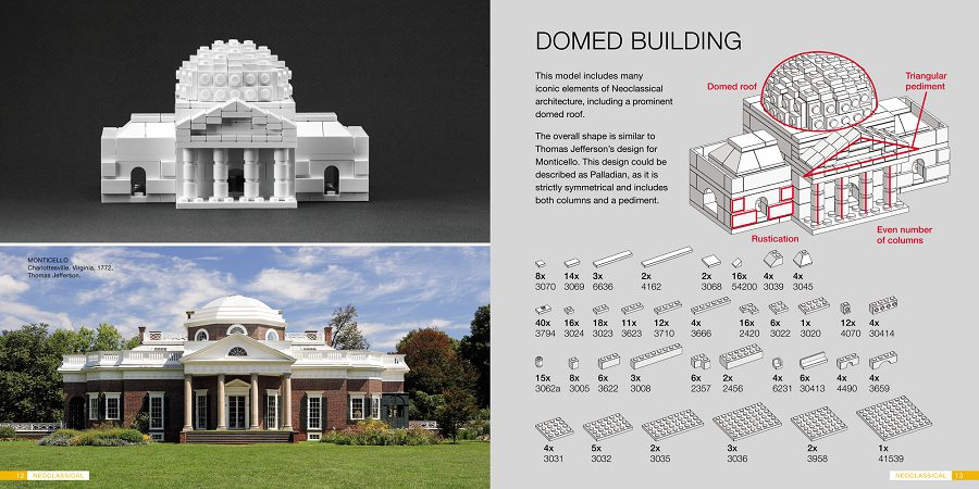 The Lego Architect book -- learn how to build 12 famous buildings out of LEGOS