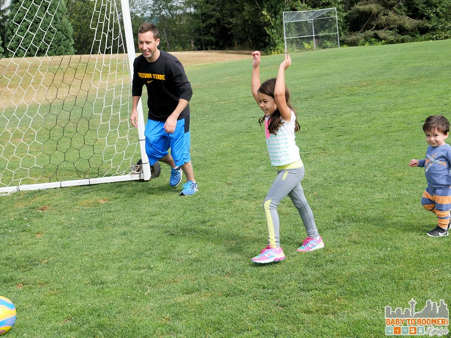 Family Soccer - Summer in Motion with the new Panasonic Lumix G7 #4KFun #4KPhoto #IC #ad