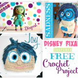 FREE INSIDE OUT Movie Crochet Patterns – Sadness, Joy and Disgust