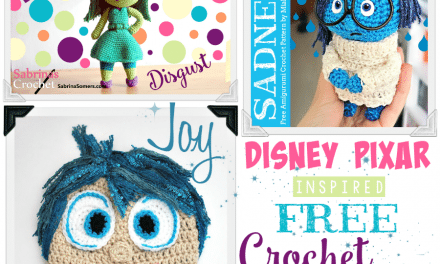 FREE INSIDE OUT Movie Crochet Character Patterns