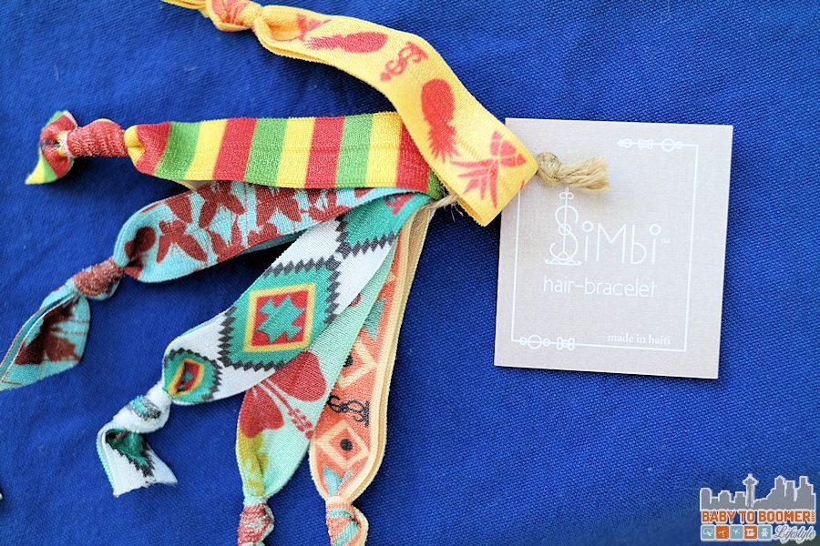 Simbi Haiti Hair-Bracelet - SIMBI: Chic Fashion Line Creates Jobs & Provide Clean Water in Haiti ad