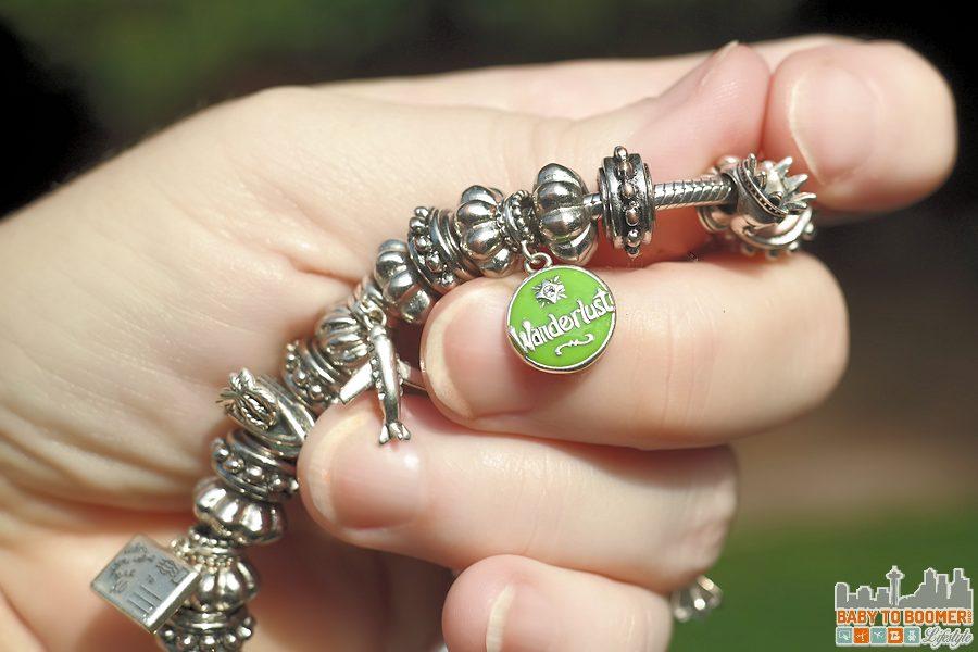 SouFeel Bracelet - Wanderlust Charms Fits all popular snake charm bracelets - ad