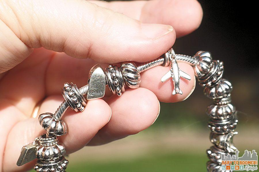 SouFeel Charm Bracelet - Plane Fits all popular snake charm bracelets - ad