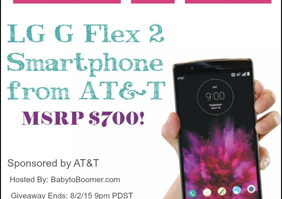 LG G2 Flex2 Smartphone – AT&T Special Offer & Giveaway!